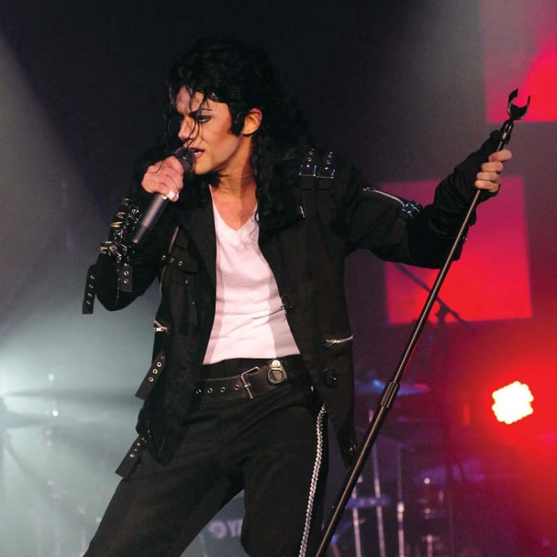 Michael Firestone's tribute performance of Michael Jackson will bring the iconic performer to life