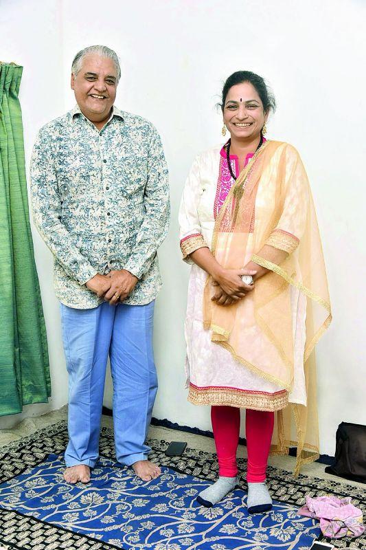 Amit Barariya and Aradhana Karhade Sastri