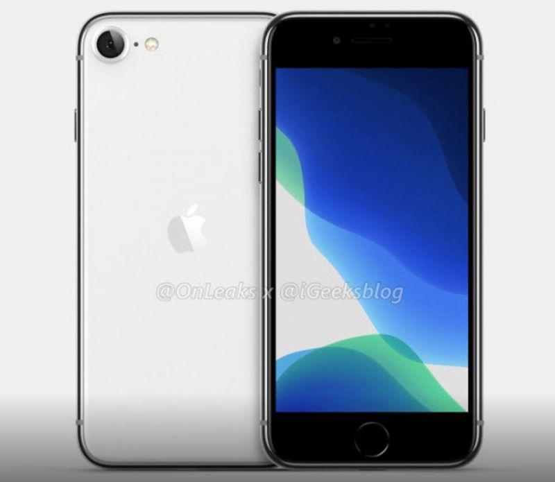 Apple iPhone SE2 concept