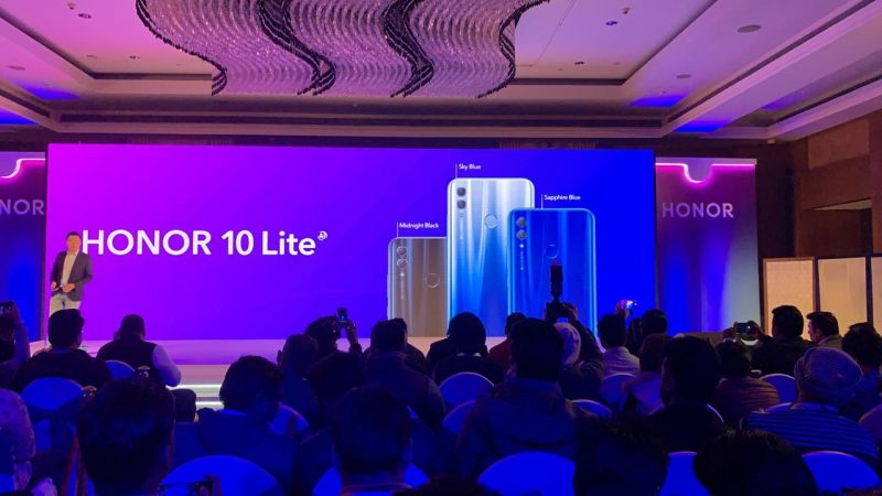 Honor 10 Lite with 24MP selfie camera launched at a