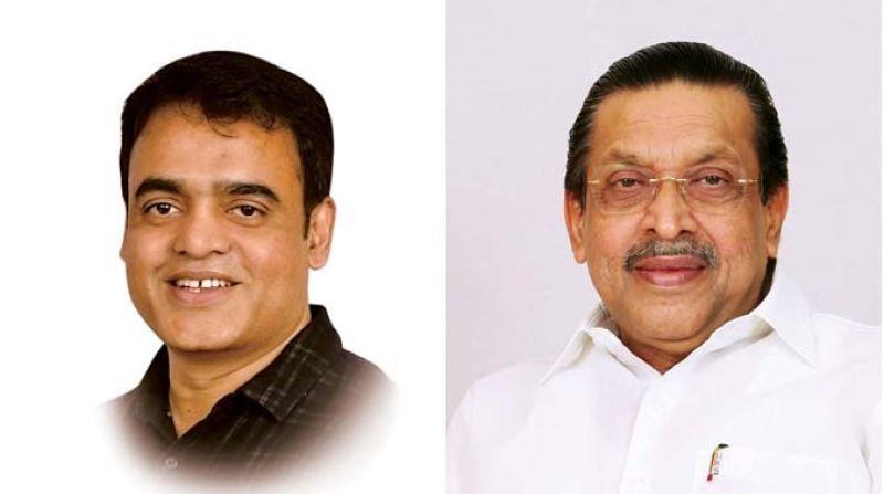 Dr. Ashwath Narayan C. N. (BJP) and M R Seetharam Congress