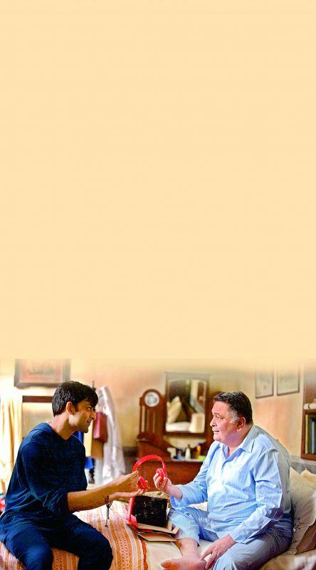 Rishi Kapoor and Anirudh Tanwar, playing father and son in Leena Yadav's  Rajma Chawal.