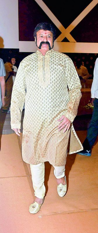 If I play eve-teasing roles, and just run around girls, will my fans accept? Either I kiss her or make them pregnant. That's all. We have to commit ourselves — Actor and MLA Nandamuri Balakrishna at the music launch of the film Savitri