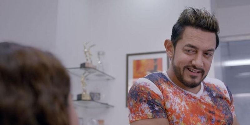 Aamir Khan in the still from Secret Superstar.