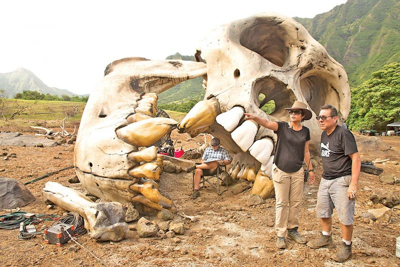 The Boneyard from Kong: Skull Island