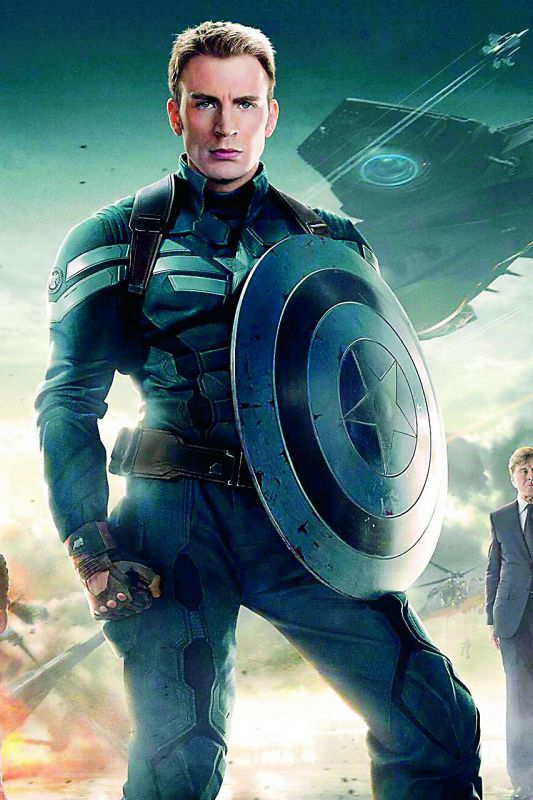 Chris Evans admitted he feared failure while  signing as Captain America in The Avengers
