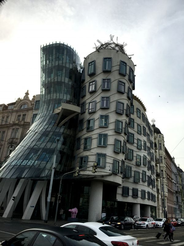 The 'Dancing House' or 'Fred and Ginger', one of the most significant landmarks in Prague and internationally renowned structures of the post-1989 Czech architecture. (Photo: Rajan Goregaoker)