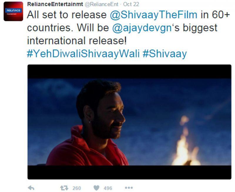Ajay Devgn Shivaay