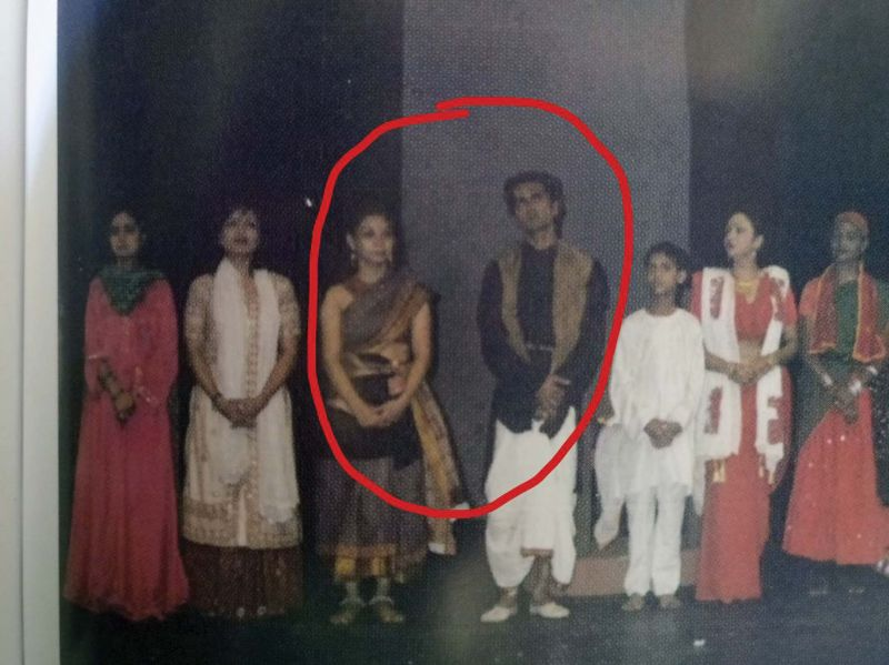 Nawaz states that he met the girl during a play in Mumbai and he posted a picture
