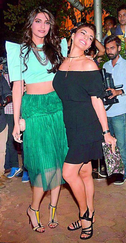 Sonam Kapoor and Jacqueline