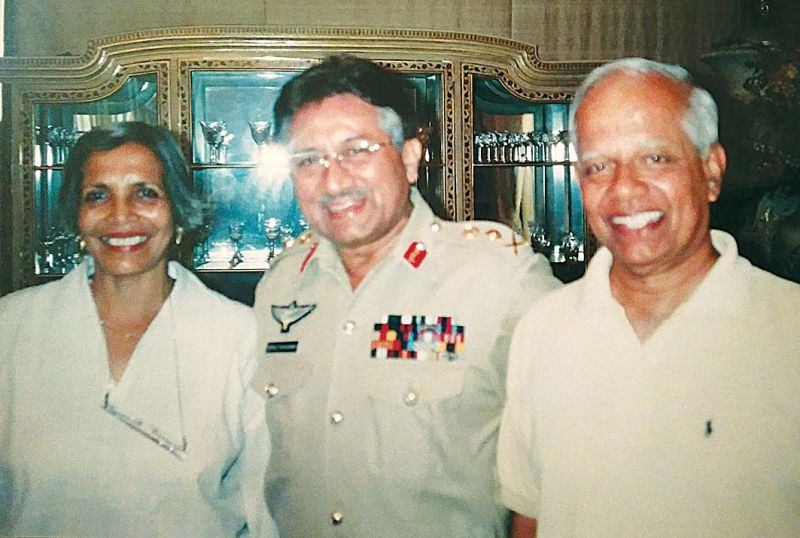 A file photo with former Pakistan President, General Pervez Musharraf in Islamabad in 2004