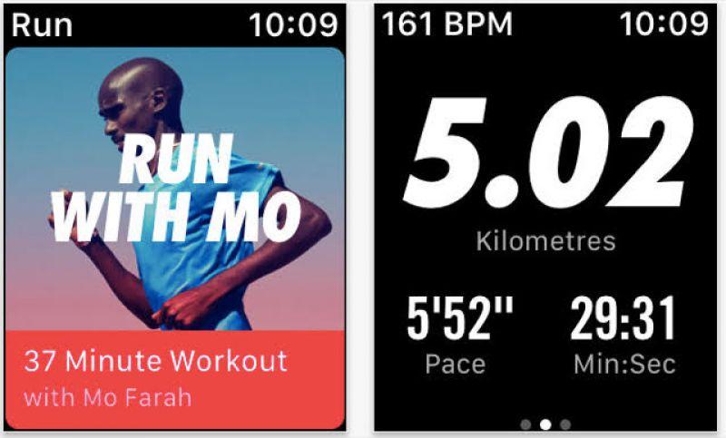 Nike+run