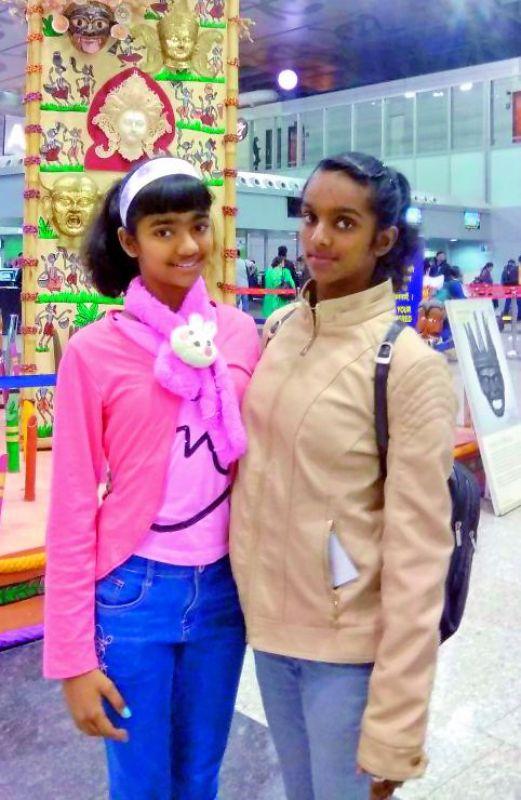The Sagar Sisters — Anshika and Priyanka Sagar