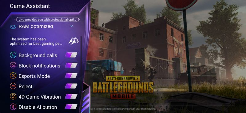 Vivo Z1X Gaming