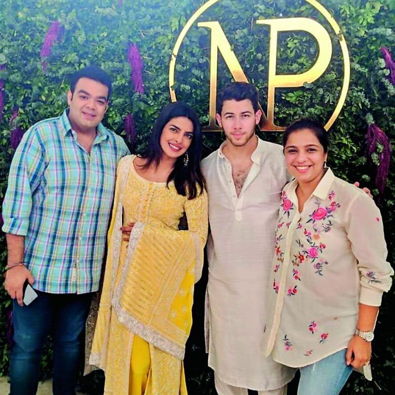 Team Shaadi Squad at Priyanka Chopra and Nick Jonas' Roka ceremony