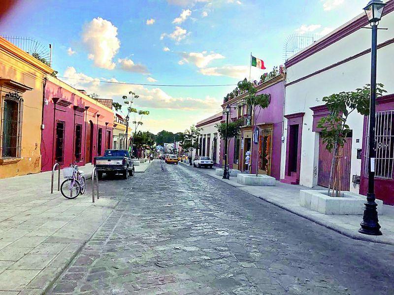 Streets of Oaxaca.