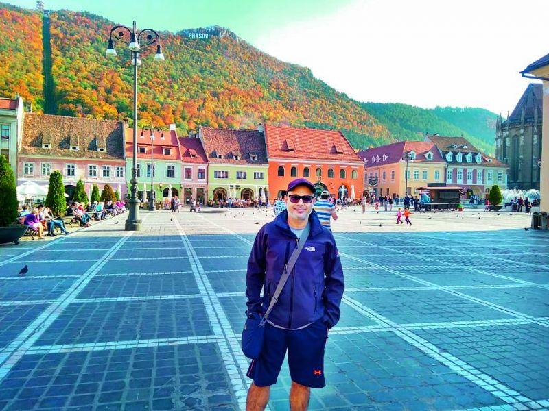 Sanjay Malhotra, founder  Indjapink, gay travel company