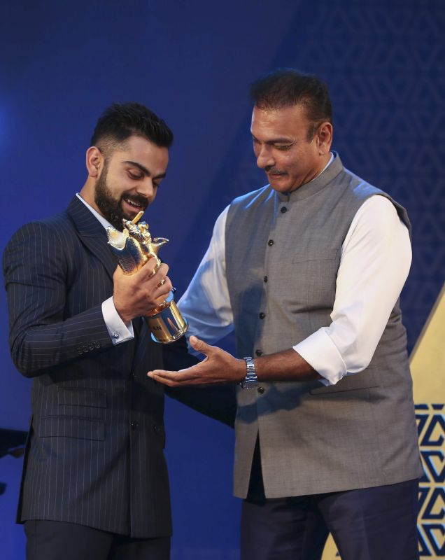 Anushka Sharma's presence made it more special, says Virat Kohli after receiving Polly Umrigar award