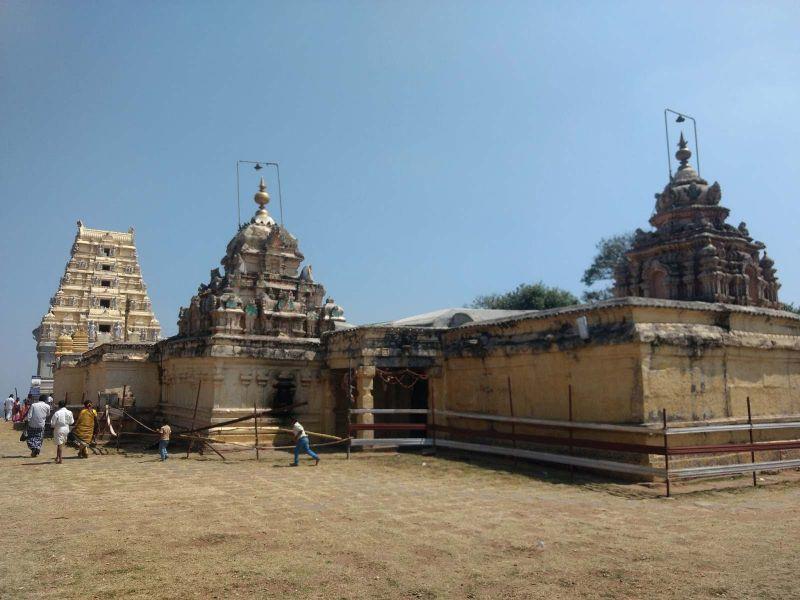 The Biligirirangana Temple before the renovation