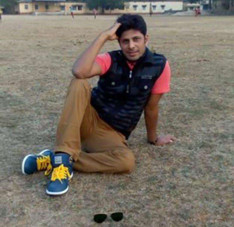 Sub Inspector Rudra Pratap. (Photo: Twitter | ANI)