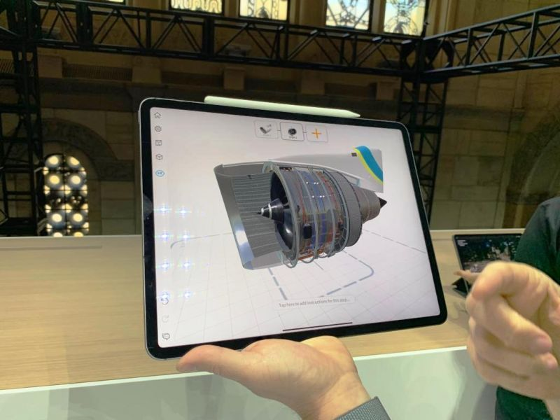 The iPad Pro will also be able to run the full version of Adobe Photoshop and AutoCAD. These apps have been optimised for the iPad Pro to take advantage of the touch screen interface.