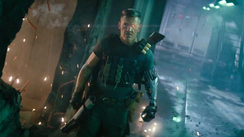 Josh Brolin plays Cable in 'Deadpool 2'.