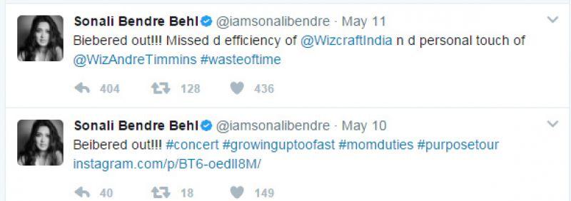 'Waste of time': Sonali, Bipasha-Karan, Sona, slam Justin Bieber concert