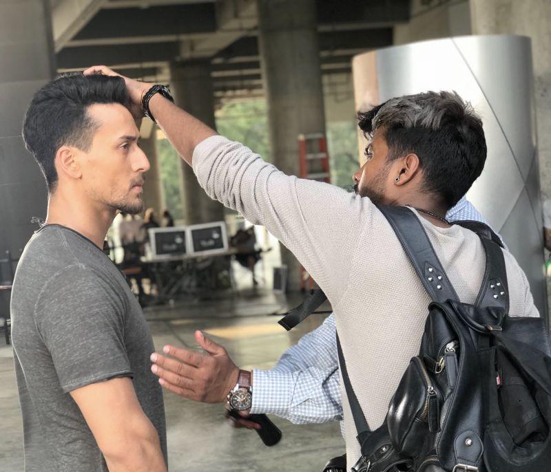 Tiger Shroff and Amit Yashwant. (Photo: Instagram)