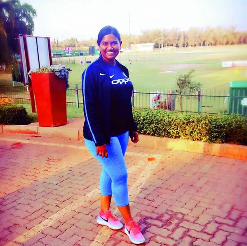 M.S. Tracey Fernandes is currently the physio of the Mithali Raj-led team but has also worked with the male players. She has worked with the Goa Ranji Trophy team.