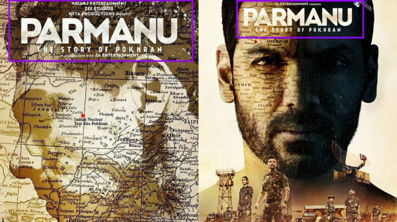 John Abraham on 'Parmanu' poster.