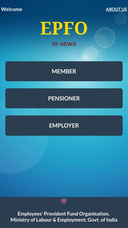 EPFO mobile app shows a very simple way to activate UAN.
