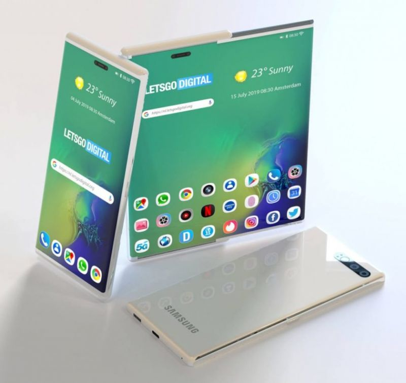 Samsung retractable screen display leaks