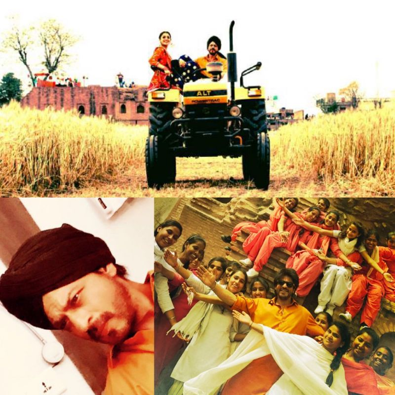 Shah Rukh is loving Punjab's 'Lehraate Khet, Ladkiyaan, Lassi Te Love'