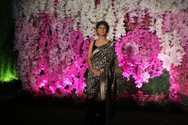 Aamir Khan's wife Kiran Rao. (Photo Courtesy: Mrugesh Bandiwadekar)