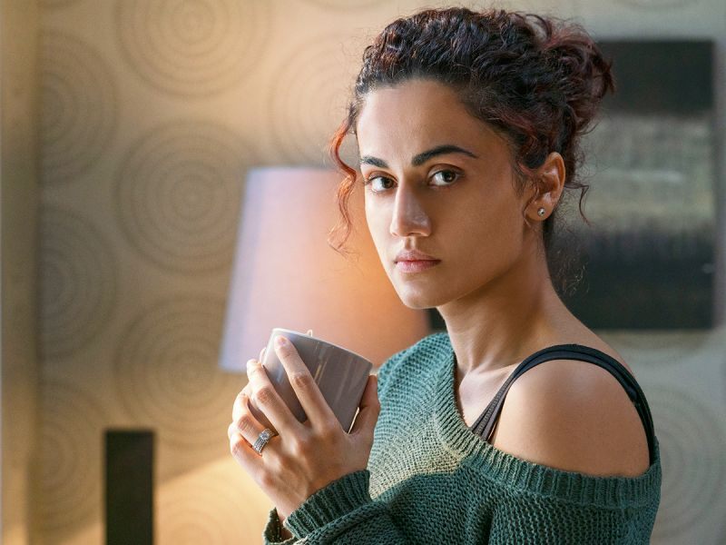 Taapsee Pannu in Badla.