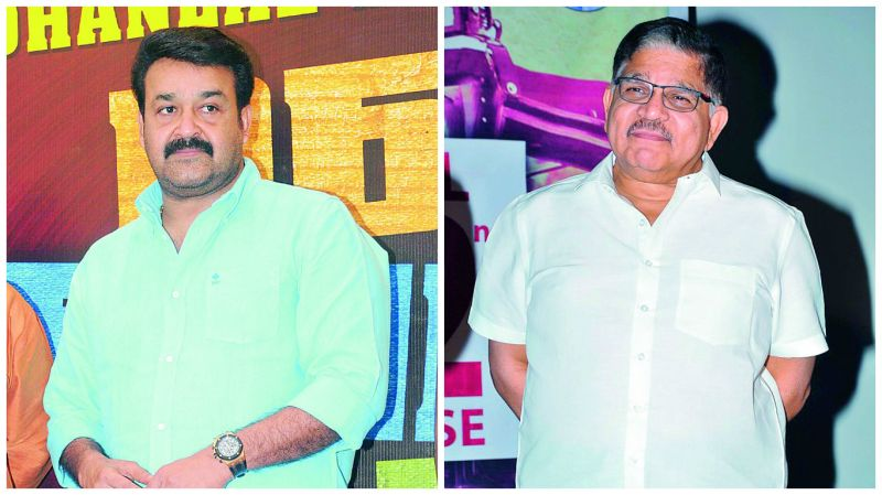 Mohanlal and Allu Aravind are key players in two of these upcoming biggies