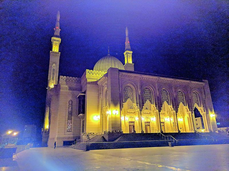 The grand mosque of Algiers