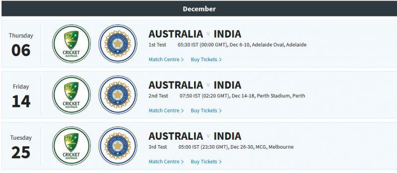 (Photo: Screengrab / BCCI website)