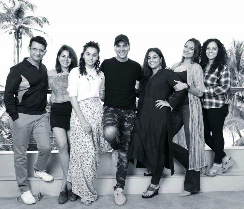 Sharman Joshi, Kirti Kulhari, Taapsee Pannu, Akshay Kumar, Vidya Balan, Sonakshi Sinha and Nithya Menen.