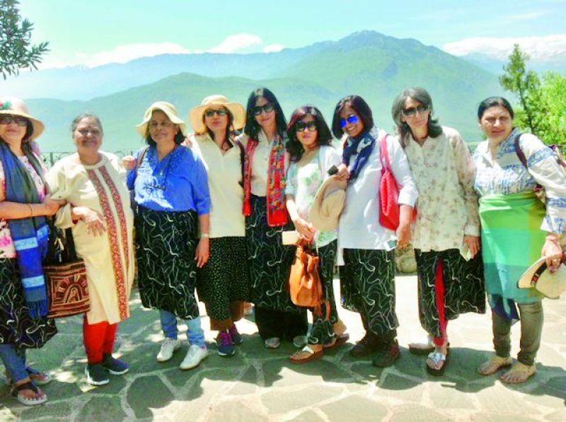 Sumi, Saroj, Susan, Chand, Vani, Manisha, Neera, Prabha and Neeta.