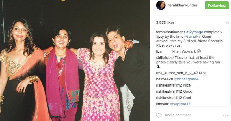 Throwback: SRK, Priyanka, Karan, Hrithik at Farah's wedding will get you nostalgic