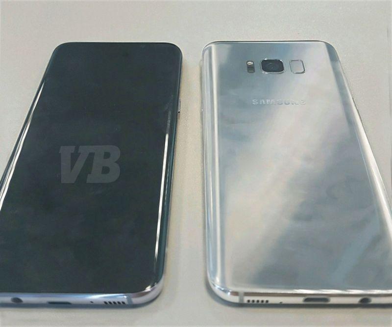 Leaked Samsung Galaxy S8 smartphone (Photo: Evan Blass)