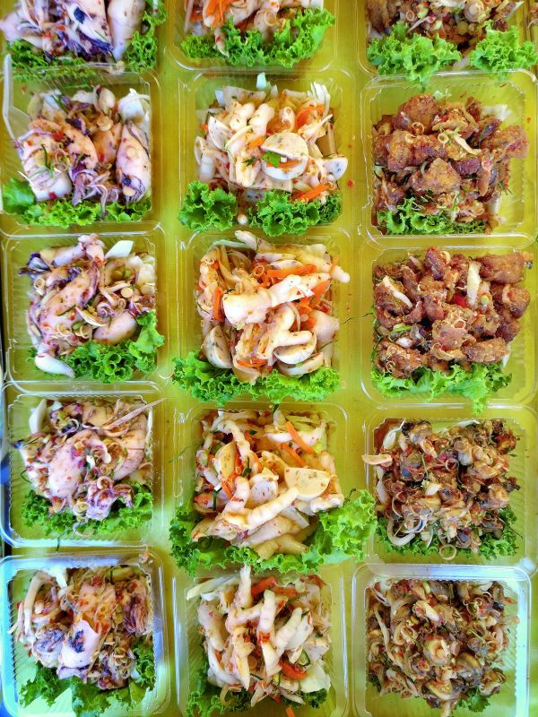 Salads at Night Market.