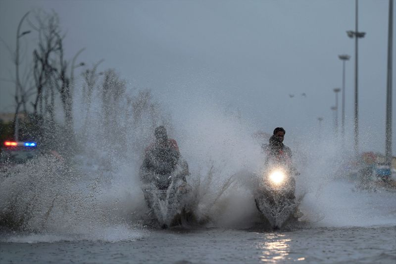Heavy rains predicted till Saturday. (Photo: PTI)