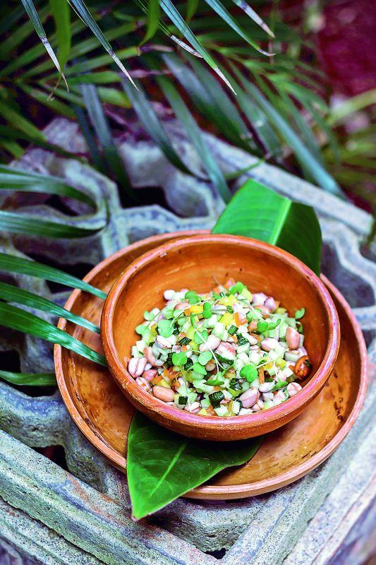 Boiled Peanut Salad
