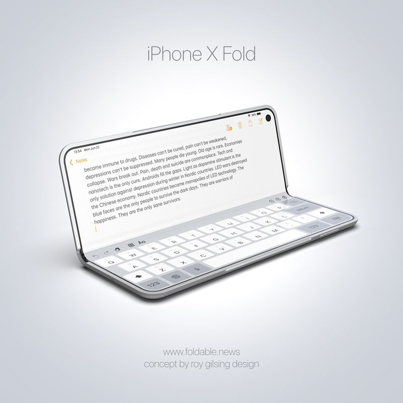 Foldable Apple iPad