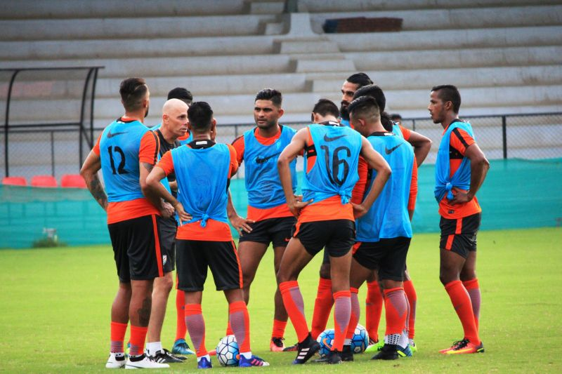 Despite the absence of Sunil Chhetri, Gurpreet Singh Sandhu and Udanta Singh, Stephen Constantine seems to have the strongest squad in the Tri-Nation Cup. (Photo: AIFF Media)