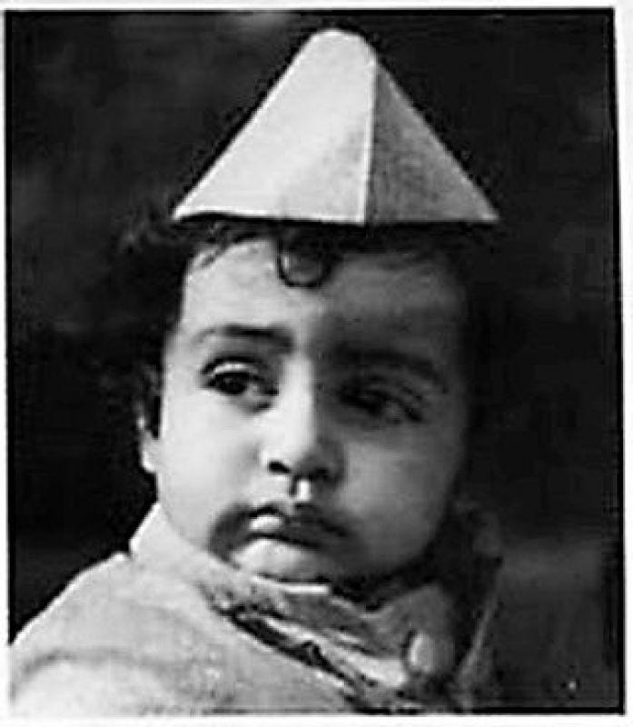 "Aishwarya Rai Bachchan shared an image of baby Jr. Bachchan, with the caption, ""always...My Baby. HAPPY HAPPY BIRTHDAY BAAABYYY (sic)"""