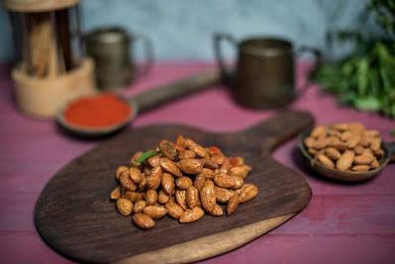 Mango Panna Spiced Almonds