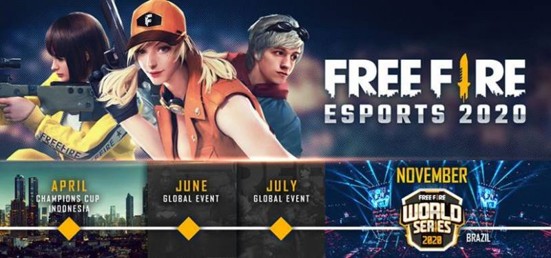 Free Fire Champions Cup And Free Fire World Series Announced In 2020 Esports Line Up